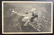 1933 Czechoslovakia Real Picture Postcard Cover Rppc Our Army Air Force