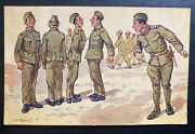 1926 Kadan Czechoslovakia Picture Postcard Cover Ppc Our Army Soldiers