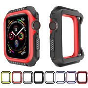 Kamon Case For Apple Watch Series 6 5 4 3 Silicone Bumper Cover 38/42/40/44mm23c