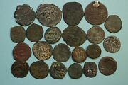A Lot Of 22 Islamic Medieval Coins