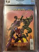Web Of Spiderman 8 Heroic Age Variant... 1 Of Only 2 Ever Graded Cgc 9.6