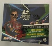 2005 Press Pass Stealth Nascar Racing Hobby Edition Box Factory Sealed 28 Pack