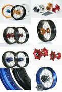 Honda Motorcycle Parts Crf150r Haan Wheels Front And Rear Wheel Complete Kit F/s