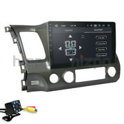 Android 10 Car Stereo Radio 10.1and039and039 Hd 2g+32gb Gps For Honda Civic 2006-2011+cam