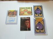 2019 Twin Peaks Archives Trading Cards Complete Master Set +ab Cards Rittenhouse