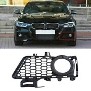 For Bmw 3 Series F30 F31 2012-2018 M Package Front Bumper Fog Light Grills Qd09