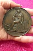 1834-59 Royal Military Academy Belgium Medal By Famous Jewish Medalist Wiener