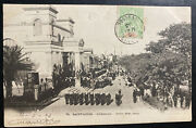 1903 St Louis Senegal Rppc Real Picture Postcard Cover Cathedral View
