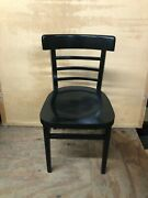 Restaurant Dinning Chairs Black Lot Of 8
