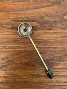 Suger Spoon With Bowl Formed From New Guinea 1935 George V One Shilling Sliver C
