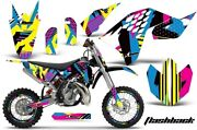 Suzuki Motorcycle Parts Dr-z400sm Amr Graphic Decals Full Kit Flash Back F/s