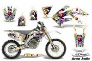 Suzuki Motorcycle Parts Dr-z400sm Amr Graphic Decals Full Kit Yellow Pattern