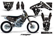 Suzuki Motorcycle Parts Dr-z400sm Amr Graphic Decals Full Kit Black Reaper F/s