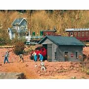 Piko G Scale Model Train Buildings - Track Inspection Shed - 62232