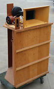 Rare Vintage 60and039s Unmodified High Fidelity House Klipsch Cabinet Jbl 375 Ev 15w