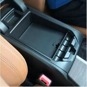 For Bmw X3 X4 G01 G02 2018-2021 Armrest Storage Box Phone Tray With Non-slip Mat