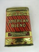Vintage Advertising American Blend Vertical Pocket Tin Exc Cond 247-f