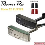 2020 Romaro Golf Japan Painite X3 Putter 33or34 With Long Wing Parts Set 20sm