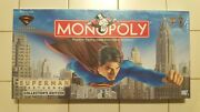 Monopoly Superman Returns Board Game - 2006 Sealed New - Collectorand039s Edition