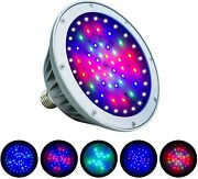 40w Color Changing Led Pool Light Bulb,replace For Pentair Hayward Light Fixture