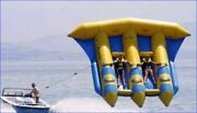 Inflatable Flying Fish Boat - Towable Water Sports Fun Pvc