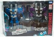 Thundercracker And Skywarp Transformers Earthrise Seekers Target Exclusive New