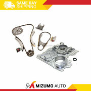 Timing Chain Kit Timing Cover Fit 02-07 Chevrolet Gmc Hummer Isuzu 3.5 4.2