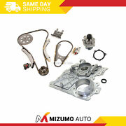 Timing Chain Kit Timing Cover Water Pump Fit 07-11 Gmc Chevrolet Hummer 2.9 3.7l