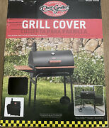 Char Griller 37-in X 50-in Black Polyester Charcoal Grill Cover Waterproof O4