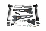 Bds Suspension 1520h 4 Lift With Radius Arms For F250/f350 Powerstroke 3 Leaf