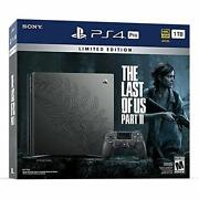 Sony Playstation 4 Pro Limited Edition The Last Of Us Part 2 Console Ps4 System