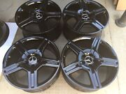 19 Newly Blacked S550 S600 Cl550 Cl600 S65 S63 Mercedes Amg Oem Factory Wheels.