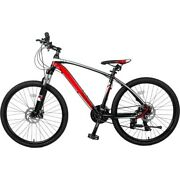 26 Aluminum Mountain Bike 24 Speed Mountain Bicycle With Suspension Fork 2 Colo