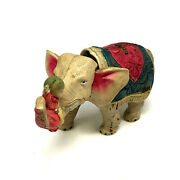Celluloid Elephant With Riders, Wind-up, Vintage 1940's, Japan