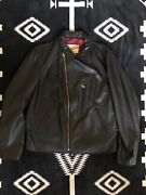 Supreme X Schott Nyc Perfecto Genuine Leather Jacket Ss13 Black Rare Sold Out