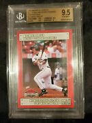 2010 Midwest League All-star Game Mike Trout Bgs 9.5 Gem Mint Rookie Card Rc