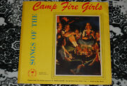 Songs Of The Camp Fire Girls 2x10 78rpm Vg+ Set Rare Lp