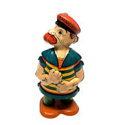 J Chein Barnacle Bill Wind-up Toy Vintage 1930s