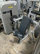 Technogym Element Arm Curl Gym Fitness Exercise Weight Stack Bicep Machine