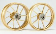 Suzuki Motorcycle Parts Dr-z400sm Front-rear Aluminum Forged Wheel Gold 500-17