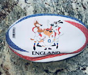 Gilbert Mascot Rugby Ball England Size 3 Limited Edition Team English Sports