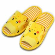 Pokemon Slippers Pikachu 24cm Room Shoes Ladies From Japan