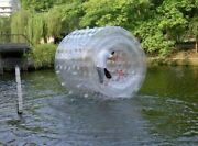 Inflatable 106 Large Water Roller Snow Grass Entertainment Roller New
