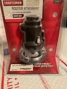 New Craftsman Router Attachment Bolt On 934977 Cutting Tool Nip