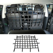 Car Rear Seat Isolation Net Back Seat Barrier For Dogs For 4runner 2010+
