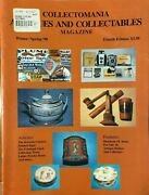 Collectomania Antiques And Collectables Magazine - Winter/spring 1998