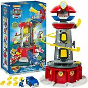 Paw Patrol Mighty Pups Super Paws Lookout Tower Playset With Lights And Sounds