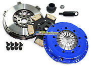 Fx 6-puck Clutch Kit And 14.5 Lbs Racing Flywheel Fits Bmw M3 E46 S54