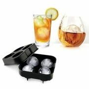 New Ice Ball Mold Sphere Maker Whiskey Silicone Ice Ball Machine