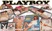 Vintage Playboy Magazines In Fair To Good Condition - 60and039s And 70and039s